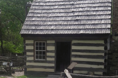 Log Cabin at the Benjamin Banneker Historic Park and Museum