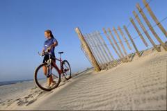 Biking Assateague Island