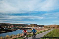 Biking in Cumberland, Western Maryland
