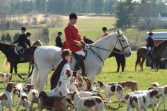 Goshen Opening Hunt, Blessing the Hounds