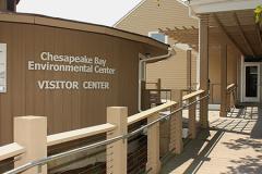 sign for Chesapeake Bay Environmental Center