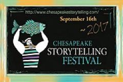 Chesapeake Storytelling Festival Sign