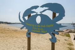 Crab Capital of the World Sign