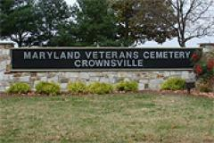 Entrance for Crownsville Veterans Cemetery