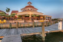 Bridges restaurant on the water