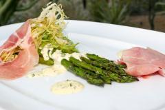 Asparagus at Gertrudes