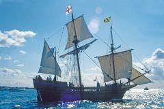 Explore the tall ships that tell the story of the first settlers of Maryland.