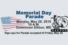 Elkton Memorial Day Parade Flyer