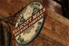 Ellicott Mills Brewing Company sign