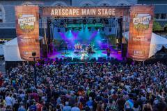 Artscape music stage