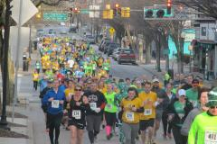 people running in a 5K