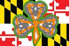 Maryland flag Irish symbol