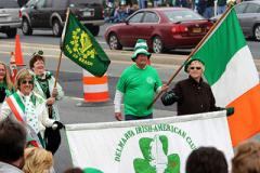 Photo of the St. Patrick's Day Parade in progress in Ocean City