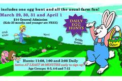 Green Meadows Farms Easter Egg Hunts