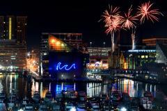 Fireworks Display, Baltimore Inner Harbor