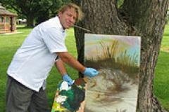 Picture of U.S. Coast Guard Veteran and Artist Jeffrey Engle