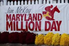Jim McKay Maryland Million Day Banner