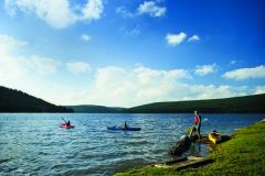Kayakers at Deep Creek Lake
