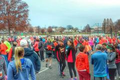 Turkey Trot participants