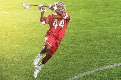 Lacrosse player