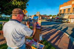 Plein Air Painting in Leonardtown