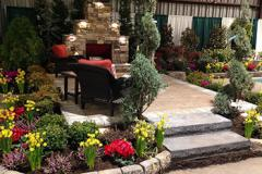 Maryland Home and Garden Show display