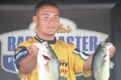 Fishing compeititon competitor