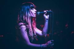 Woman Singing Death Metal
