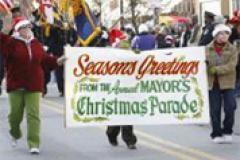 Seasons Greetings from the Annual Mayor's Christmas Parade
