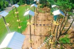 View of Monkey Business Adventure Park