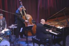 Jazz Trio performing at festival