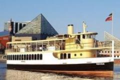Picture of the newest Watermark yacht in the Inner Harbor, the Raven