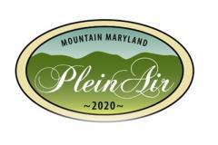 Mountain Maryland Plein Air 2020 Logo