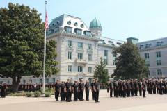 Noon Formation at U.S. Naval Academy - Annapolis