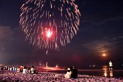 Fireworks display at Ocean City