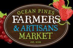 Ocean Pines Farmers & artisans Market sign