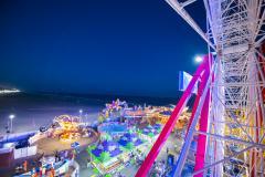 Ocean City Amusements at Night