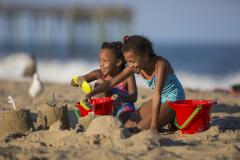 Dig in for some spectacular sandcastle-building on Maryland's beaches like Ocean City's.