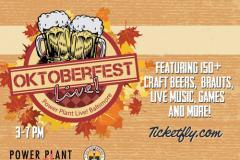 Oktoberfest at Power Plant Live