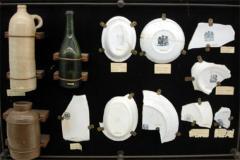 Items in museum