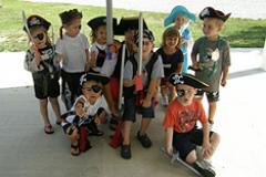 Children in Costumes for Pirates On The Potomac