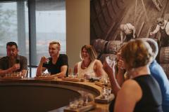 Sagamore Spirits Tour Group at a Tasting