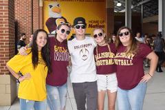Students at Salisbury University