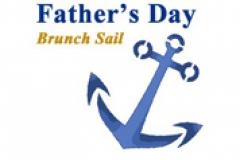 Father's Day Brunch Sail with a blue anchor