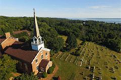 St. Ignatius Church - Aerial View
