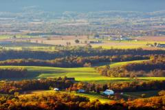 Located in Southern Frederick County, Sugarloaf Mountain offers hiking trails and scenic overlooks from its summit.