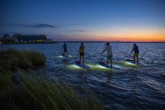 Sunset Standup Paddleboarding