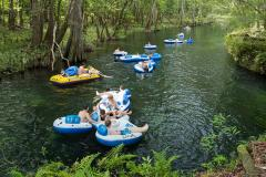 Tubing at Gunpowder Falls in Monkton