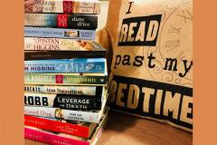 Turn the Page Bookstore with Books Ready for Authors' Signing