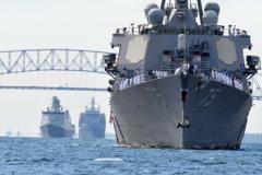USS Donald Cook Arriving in Baltimore for Fleet Week